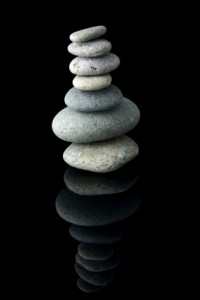 Balanced Stone Stack