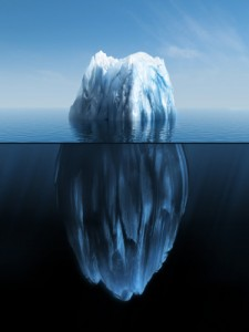 you're just like an iceberg