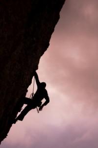 overcoming a mountain